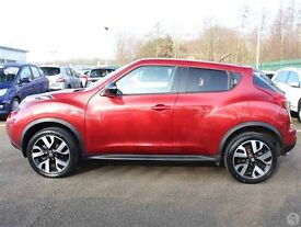 Nissan Juke n-tec automatic 2014 11,000 miles f.s.h. One owner from new. Nissan warrant for a year..