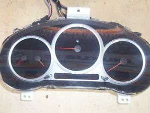 JDM SUBARU WRX STI VERSION 8 CLUSTER IMPORTED FROM JAPAN