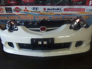 JDM ACURA RSX DC5 TYPE-R FRONT END HID LIGHTS BUMPER NOSE CUT