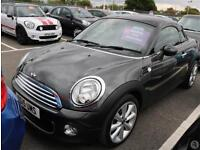 Mini Coupe Cooper 1.6 Chilli Pack 3dr 17in Alloys