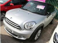 Mini Paceman Cooper 1.6D 3dr Chili/Media Pack