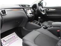 Nissan Qashqai 1.6 dCi 130 Tekna 5dr 2WD Glass Roo