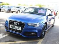 Audi A5 Cabriolet 2.0 TDi 177 S Line Special Ed +