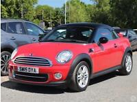 Mini Coupe Cooper 1.6 3dr Pepper Pack