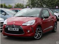 DS DS3 Cabrio 1.6 BlueHDi 100 DStyle Nav 2dr