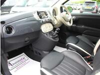Fiat 500 0.9 TwinAir Lounge 3dr Nav Leather