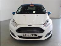 Ford Fiesta 1.0 E/B 100 Zetec White 5dr Spring Nav