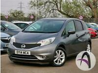 Nissan Note 1 2 Dig S Tekna 5dr Auto Panroof Cvt