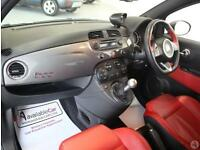 Abarth 595 1.4 T-Jet 160 Turismo 3dr Red Leather