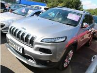 Jeep Cherokee 2.2 Multijet 200 Limited 5dr 4WD Aut