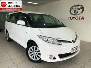 2014 Toyota Tarago ACR50R MY13 GLi Glacier White 7 Speed CVT Auto Sequential Wagon Bungalow Cairns City Preview