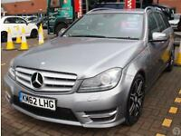Mercedes Benz C C Estate C250 2.1 CDI B/E AMG Sport+