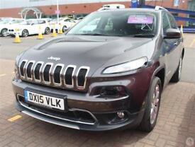 Jeep Cherokee 2.0 CRD 140 Limited 5dr 4WD