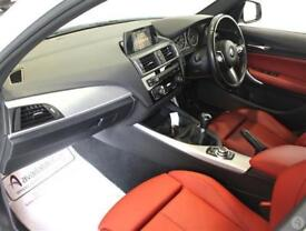 Bmw 1 M135i 3.0 M Performance 5dr Nav Red Leather
