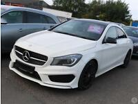 Mercedes Benz CLA A A 180 1.6 AMG Sport 4dr Night Pa