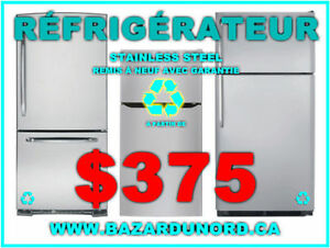 Refrigerateur/Frigo stainless steel Inox usage/reusi. a part. de