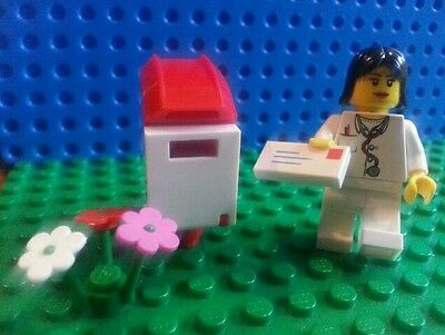 LEGO Bulk Minifig Doctor Mail Box Flowers City Creator Friends Lego Movie Town  (Lego Minifig Box)
