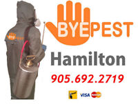 MOUSE? RAT? INSECTS? HAMILTON PEST CONTROL $100 OFF* 9056922719