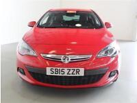 Vauxhall Astra GTC 1.4T 140 SRi 3dr 19in Alloys