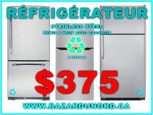Refrigerateur/Frigo stainless steel Inox usage/reusi. a part. de