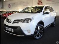 Toyota Rav4 2.0 D-4D Icon 5dr 2WD Leather