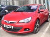 Vauxhall Astra GTC 1.4T 140 SRi 3dr 19in Alloys