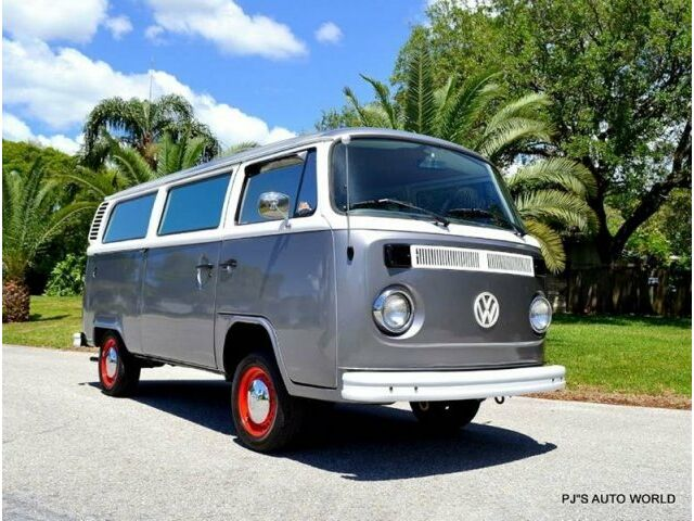 Volkswagen: Bus/Vanagon CLEAN 1977 VW BUS GD CODE 2000CC 4 CYLINDER 4 SPEED BUG PACK EXHAUST