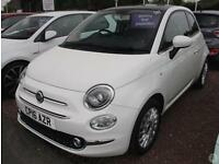 Fiat 500 1.2 Lounge 3dr Leather