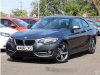 Bmw 2 Coupe 218d 2.0 Sport 2dr Leather Nav