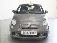 Abarth 595 1.4 T-Jet Turismo 3dr Red Leather