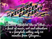Kelburn Garden Party Weekend Camping Ticket