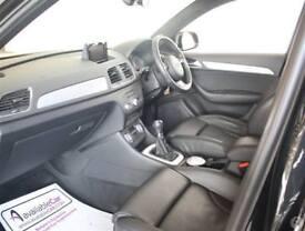 Audi Q3 2.0 TDI 140 S Line 5dr 2WD Leather Nav