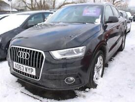 Audi Q3 2.0 TDI 140 S Line 5dr 2WD Leather Nav