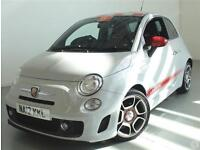 Abarth 500 1.4 T-Jet 135 3dr Red Leather