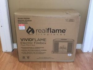 Real Flame Model 4099 Electric Firebox/Fireplace