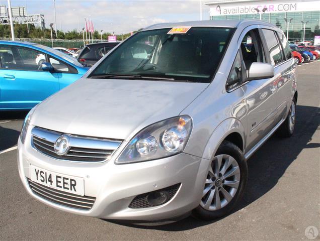 Vauxhall Zafira 1.7 CDTi 110 E/F Design Nav 5dr