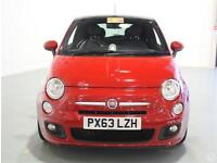 Fiat 500 0.9 TwinAir S Leather PanRoof 16in Alloys