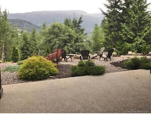 Custom Home on 2 acres with View of Mara Lake - Sicamous, BC
