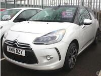 Citroen DS3 Cabrio 1.6 THP 165 DSport+ 2dr
