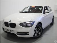Bmw 1 116d 2.0 Sport 5dr Leather
