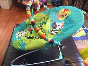 Bright Starts bouncy chair with vibration Peterborough Peterborough Area image 2