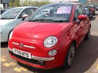 Fiat 500 1.2 Lounge 3dr 16in Alloys