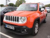 Jeep Renegade 1.4 Multiair Limited 5dr DDCT 2WD