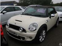 Mini Cooper S Convertible 1.6 Chili Pack 2dr Leath