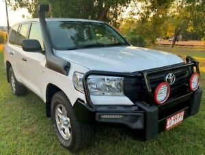 2015 Toyota Landcruiser VDJ200R MY13 GX White 6 Speed Sports Automatic Wagon Berrimah Darwin City Preview