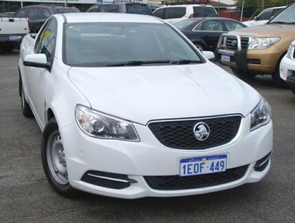 2014 Holden Ute VF MY15 Ute White 6 Speed Sports Automatic Utility Bellevue Swan Area Preview