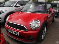 Mini Cooper Convertible 1.6D 2dr Chili Pack JCW Ae