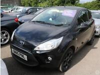 Ford Ka 1.2 Zetec Black Edition 3dr