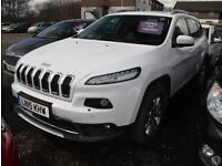 Jeep Cherokee 2.0 CRD 140 Limited 5dr 4WD Panroof