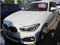 Bmw 1 118d 2.0 M Sport 3dr Nav Red Leather